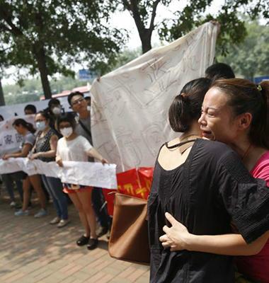 天津爆炸核心区居民的艰难善后