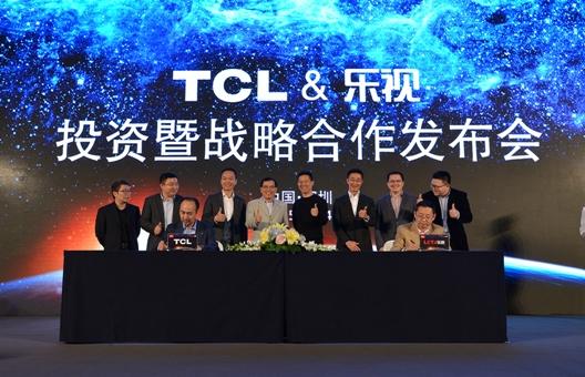 TCL引入乐视将引发蝴蝶效应