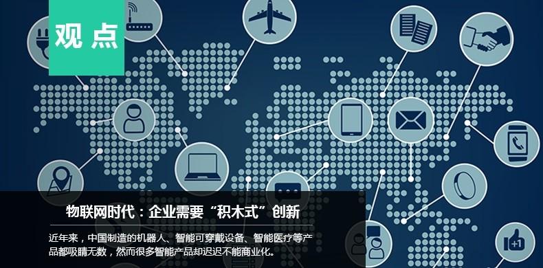 """物联网时代:企业需要""""积木式""""创新"""